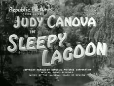 SLEEPY LAGOON (1943) DVD JUDY CANOVA, DENNIS DAY