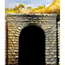 Chooch (N-Scale)  #9740 Tunnel Portal - Pkg of 2 Single Track - Cut Stone - NIB