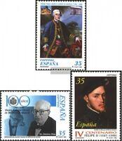 Spanien 3378,3384,3387 (kompl.Ausg.) postfrisch 1998 Sondermarken