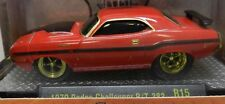 CHASE RED 1970 STREET OUTLAWS CHALLENGER R/T 383 DRAG DODGE BOYS MOPAR 16-01 M2