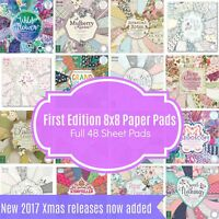 First Edition Premium 8x8 Full Paper Pad - Pick from whole range - 48 sheet pad