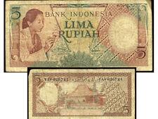INDONESIE  5  rupiah  1958   YAV026741