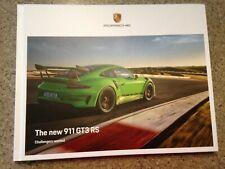 2019 Porsche 911 GT3 RS Hardcover Brochure