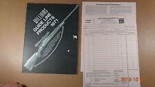 1971 Williams Guide Line Gun Signt Catalog shop fees order form