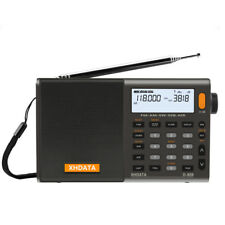 XHDATA D-808 Portable Digital Radio FM stereo/ SW / MW / LW SSB RDS LCD Air Band