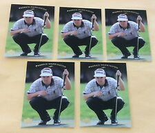 2003 Upper Deck Golf Trading Card #23 Padraig Harrington Lot Of 5