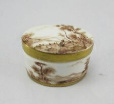 Rubel Porcelain Portugal Hand Painted Trinket Box