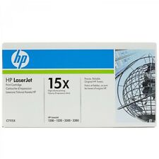 ORIGINALE HP 15X C7115X CARTUCCIA TONER NERO LASERJET 1200 1220 3300 3380