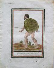 Antique Original Hawaii Engraved Print: Grasset De Saint-Sauveur: Paris 1796
