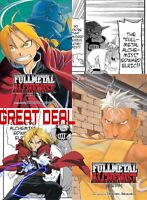 Fullmetal Alchemist Manga Lot Three In One 1-2-3 +4-5-6! GREAT DEAL!