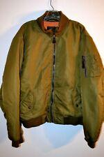Polo Jeans Ralph Lauren Authentic Military Surplus Button Front Jacket size L