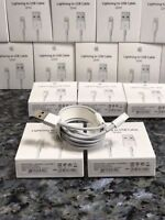 1 X 2m Apple Genuine Lightning USB Data Charger Cable iPhone 6 6S 7 5s UK Seller