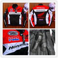 2019Hot Honda summer Removable protective device Men's racing motorcycle jacket