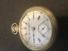 Vintage Elgin Open Face Alloy Case 18 Size 1897
