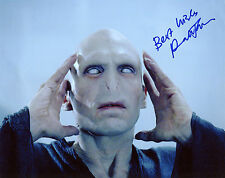 Ralph Fiennes - Lord Voldemort - Harry Potter - Signed Autograph REPRINT