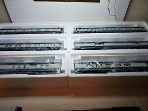 K-Line K44891-0  though K44891-5 Texas & Pacific passenger cars 6 each.