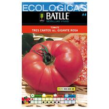 Semillas Ecológicas - Tomate Tres Cantos Gigante Rosa (2g)