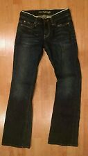 AMERICAN EAGLE OUTFITTERS WOMEN'S SIZE 2 REG JEANS HIPSTER DISTRESSED ULTRA LOW