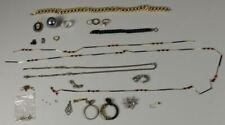 B1/ 20 tlg. Modeschmuck Konvolut - Halsketten + Armketten + Ohrschmuck + ../267