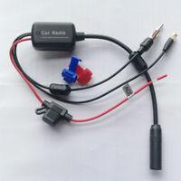 Car Truck Radio FM AM Antenna Booster DAB (SMA) Signal Amplifier Universal