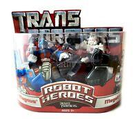 Ultra Magnus & Megatron Transformers Robot Heroes Action Figures Set New Hasbro