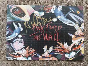 Nick Mason Signed Pink Floyd The Wall Postcard, Music *COA*