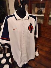 Vintage Basketball Teamwarmupshirt NIKE SYRACUSE in Gr. XL
