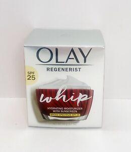 Olay Regenerist Whip Hydrating Moisturizer w/ SPF 25 Exp. 3/23