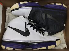 Nike Zoom Kobe II 2 Lite White Black Varsity Purple Maize Yellow 317088-101 z 11