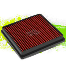 WASHABLE DROP IN PANEL PERFORMANCE AIR FILTER FOR 08-17 LAND CRUISER 5.7 RED
