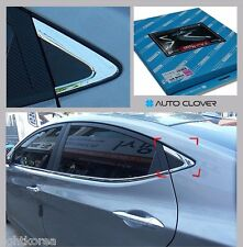 Chrome C Pillar Window molding For Hyundai Elantra Avante MD 2011 2016