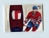 10/11 DOMINION BLUE GAME-USED JERSEY PRIME PATCH BRIAN GIONTA 18/25 *60425