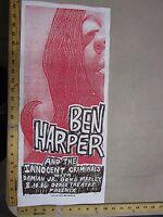 2006 Rock Roll Concert Poster Ben Harper Print Mafia S/N LE 100 Phoenix