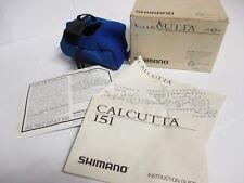 SHIMANO - Calcutta 151 - Reel Box w/ Manuals & Reel Cover