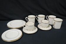 Lenox Presidential Collection Mansfield 12 Pieces Gold Trim Gently Used