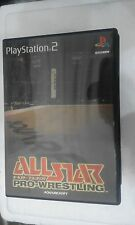 PS2 SONY PLAYSTATION 2 JAP NTSC ALL STAR PRO WRESTLING - SQUARESOFT -