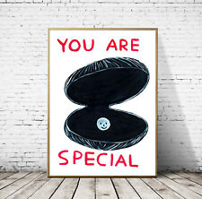David Shrigley - You are Special, Giclee Reprint Large Wall Art Poster Print