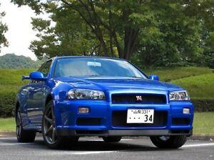 Nissan Skyline BNR34 GTR OEM STANDARD FRONT BAR LIP SPOILER
