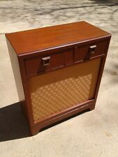 New listing Antique Vintage Philco Am Radio 78 Rpm Record Player Automatic 48-1260 powers As