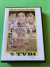 HUONG RUOU TINH NONG -  PHIM BO HONGKONG - 10 DVD