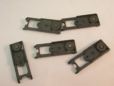 AURORA AFX GEAR PLATES W/REAR GEAR ~ MAGNATRACTION OR NON-MAG ~ 5 PC ~ NICE/VN