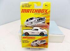 Matchbox Lesney Edition '68 Ford Mustang 428 Cobra Jet - White - Near Mint