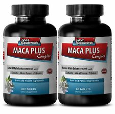 Zinc Gluconate - Maca Plus Complex 1275mg - Natural Testosterone Booster 2B