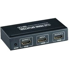 HDMI-VERTEILER WEICHE SPLITTER 3D-FÄHIG 1080 p FULL HD 1:2 HDMI SPLITTER AKTIV
