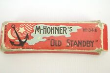 Vintage Hohner BOX ONLY No. 34b Made in Germany Instructions & Music Pamphlet