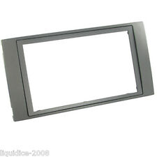 CT24FD41 FORD C-MAX 2006 ONWARDS ANTHRACITE DOUBLE DIN FASCIA ADAPTER FRAME ONLY