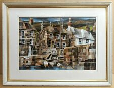 The Gurnick, Mousehole. Original Oil by listed artist Sonia Robinson RSMA c1975
