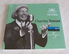 CD ALBUM DIGIPACK LES TALENTS DU SIECLE BEST OF CHARLES TRENET 18 TITRES  NEUF