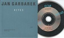 Jan Garbarek CD RITES  /  PROMO  /  CARDSLEEVE