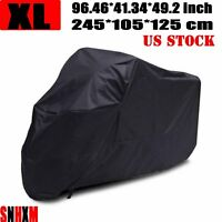 Standard Street Motorcycle XL Cover Scooter All Weather Dust UV Protection